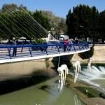 Fotos de Murcia, mirando por la pasarela del Malecón