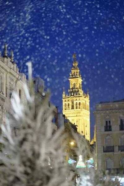 Fotos de Navidad en Sevilla