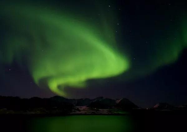 Fotos de Noruega Artica, aurora boreal