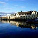Fotos de Noruega Artica, puerto de Harstad