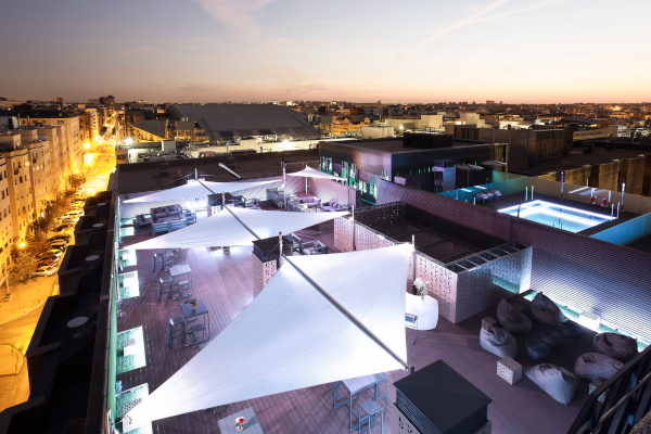 Fotos de Novotel Madrid Center, Terraza de noche