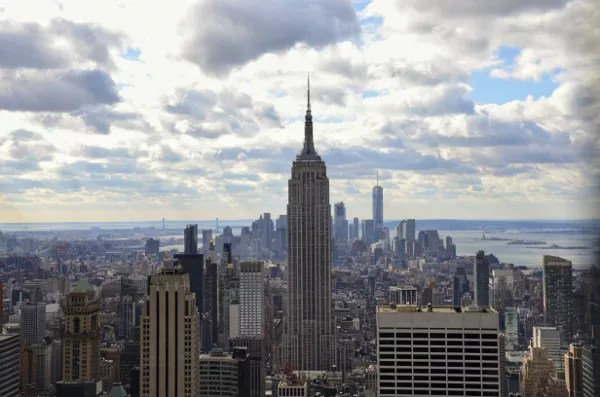 Fotos de Nueva York, Empire Sat Building desde el Top of the Rock