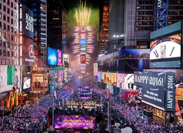 Fotos de Nueva York, cuenta atrás en Nochevieja