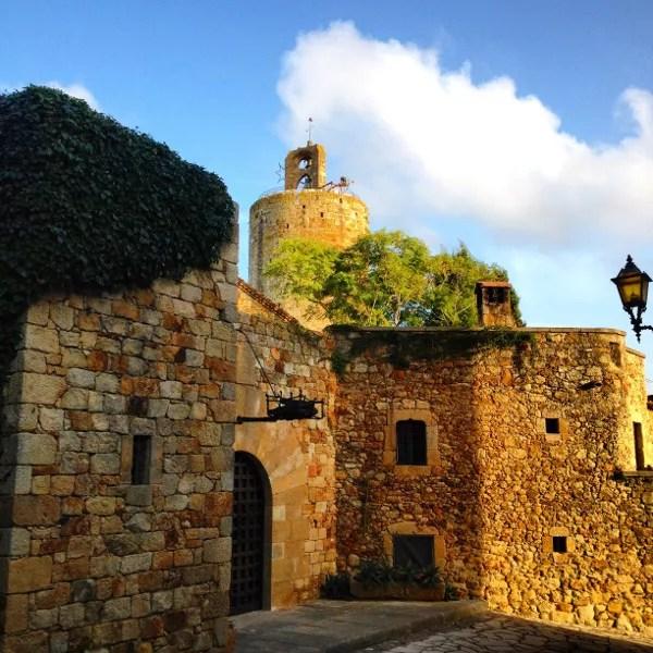 Fotos de Pals en la Costa Brava, torre