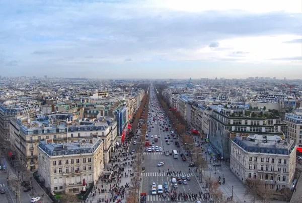 Fotos de Paris, Campos Eliseos