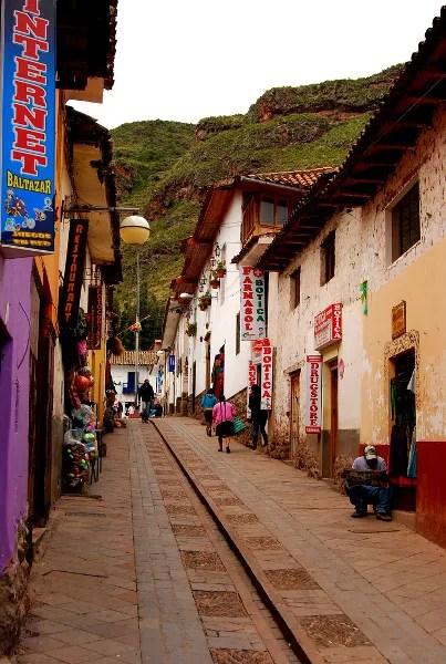 Fotos de Peru, callejuelas de Pisac