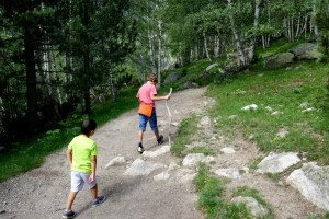 Fotos de Pirineo de Lleida, Oriol y Guillem en Aiguestortes