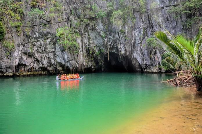 Fotos de Puerto Princesa en Filipinas, rio subterraneo