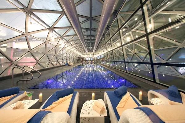 Fotos de Qatar Airways, piscina aeropuerto
