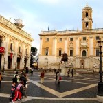 Fotos de Roma, Piazza del Campidoglio