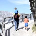 Fotos de Salzburgo en Austria, Teo, Oriol y Vero camino de la Eisriesenwelt