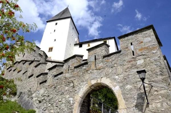 Fotos de Salzburgo en Austria, castillo de Mauterndorf