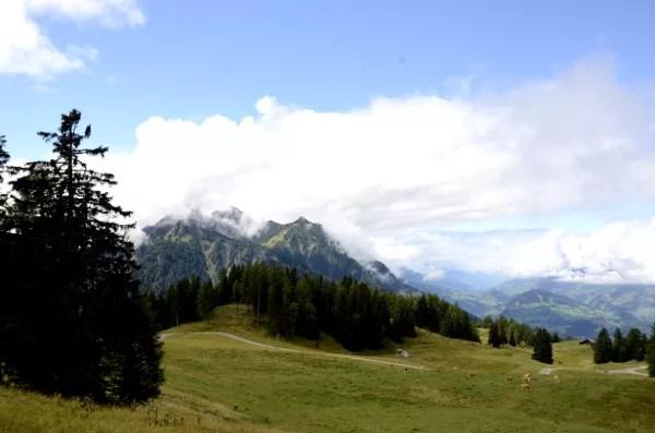 Fotos de Salzburgo en Austria, paisajes alpinos de St. Johann