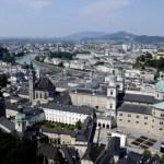 Fotos de Salzburgo en Austria, panoramica de Salzburgo