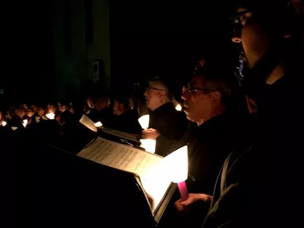 Fotos de Semana Santa de Murcia, coro procesion del silencio