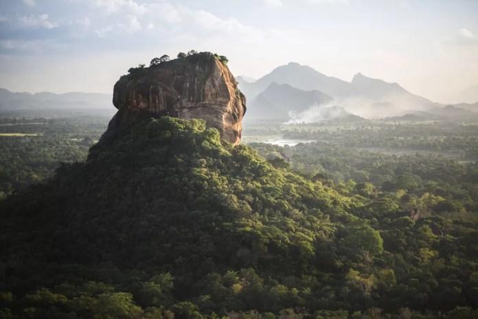 Fotos de Sri Lanka, Roca del León