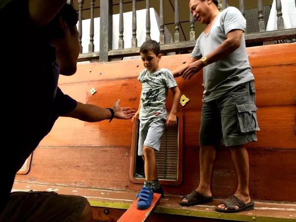 Fotos de Tailandia - crucero desde Ayutthaya, Thanatharee