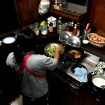 Fotos de Tailandia - crucero desde Ayutthaya, cocinando