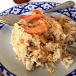 Fotos de Tailandia - crucero desde Ayutthaya, comida thai