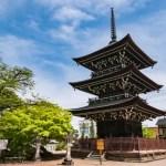 Fotos de Takayama, pagoda Hida Kokubun-Ji