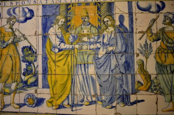 Fotos de Talavera de la Reina, azulejos Basilica de Nuestra Señora del Prado