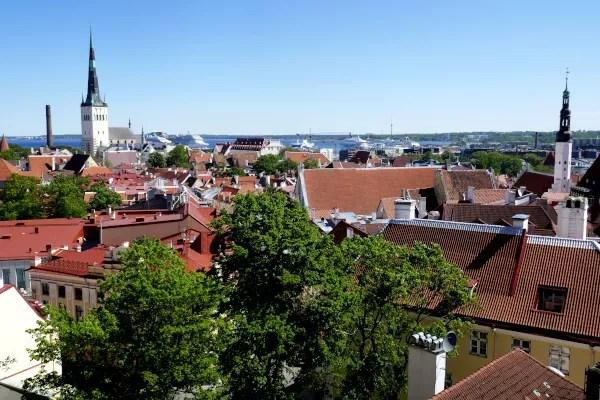 Fotos de Tallin en Estonia, mirador Patkuli