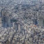Fotos de Tokio, Tokio desde el helicoptero