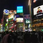 Fotos de Tokio, cruce de Shibuya