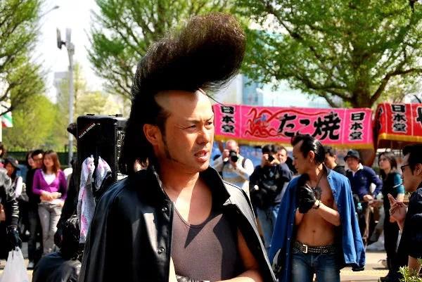 Fotos de Tokio, rockabilly del parque Yoyogi
