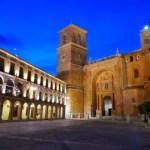Fotos de Villanueva de los Infantes, Plaza Mayor d enoche