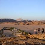 Fotos de Wadi Rum, Jordania - esperando al atardecer en Beit Ali Lodge