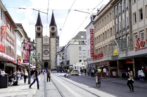 Fotos de Wurzburgo en Alemania, Catedral