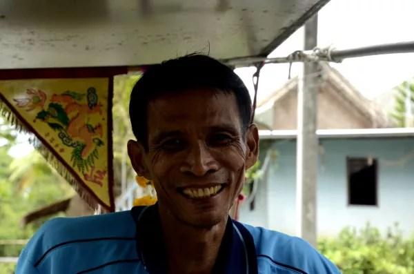Fotos de gente de Bangkok, barquero