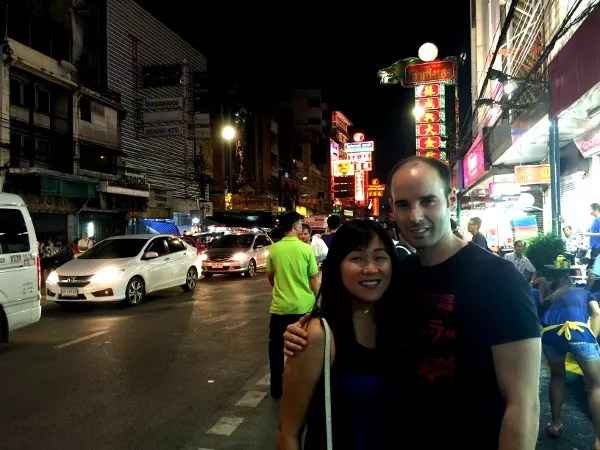 Fotos de gente de Bangkok, expatriado