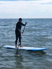 Fotos de la Costa Brava en Girona, Pau paddle surf Sant Pere Pescador