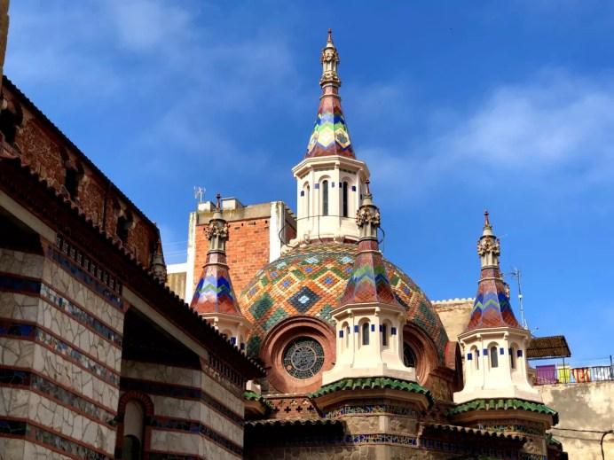 Fotos de la Costa Brava en Girona, iglesia de Sant Roma Lloret de Mar