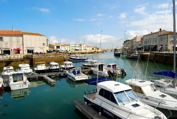 Fotos de la Isla de Re, puerto de Saint-Martin de Ré