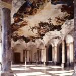 Fotos de la Residencia de Wurzburgo, sala y columnas