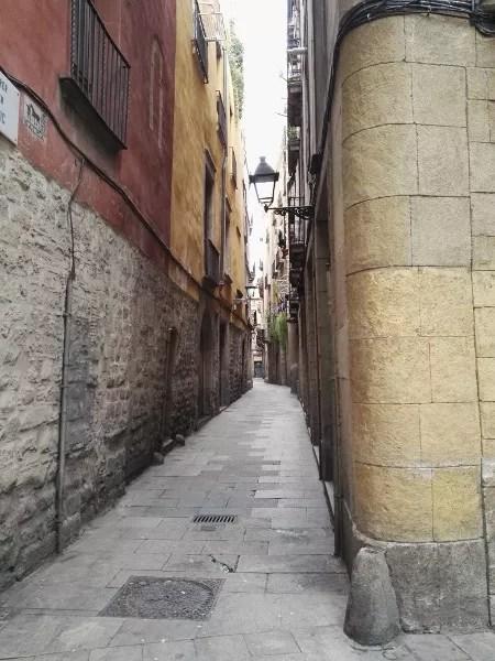 Fotos de los lugares más populares de España, Barri Gotic de Barcelona