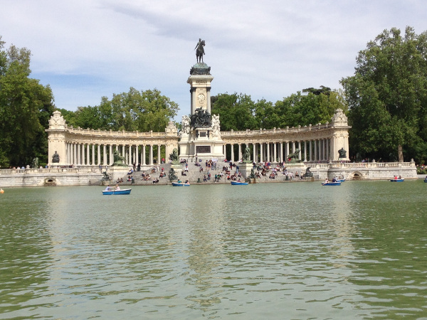 Fotos de los lugares más populares de España, Parque del Retiro en Madrid