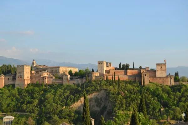 Fotos de los lugares más populares de España, la Alhambra de Granada