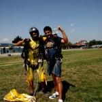 Fotos de saltos en paracaidas en Empuriabrava, final
