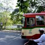 Fotos de transportes de Bangkok, autobuses
