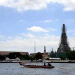 Fotos de transportes de Bangkok, barco