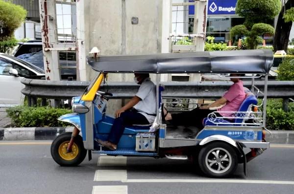 Fotos de Bangkok, Tuk Tuk