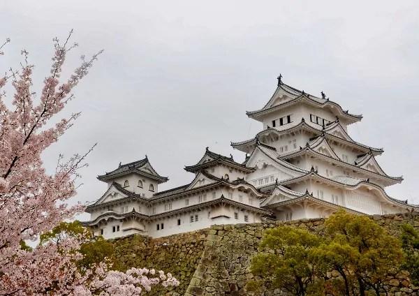 Fotos del Castillo de Himeji en Japón