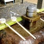 Fotos del Fushimi Inari de Kioto, fuente de purificacion