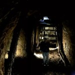 Fotos del Goierri en Euskadi, Teo en la mina de Zerain