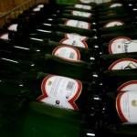 Fotos del Goierri en Euskadi, botellas de la sidreria Oiharte de Zerain