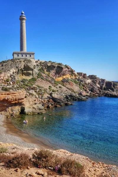 Fotos del Mar Menor en Murcia, Cabo de Palos